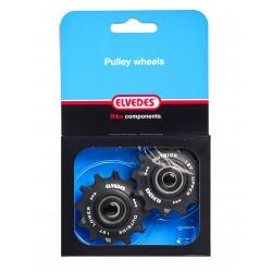 2×12 Teeth Pulley Wheels...
